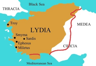 Map of Lydia (by Roke)