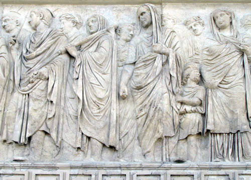 Procession Relief, Ara Pacis