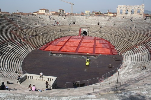 Roman Amphitheatre, Verona (by Mark Cartwright)