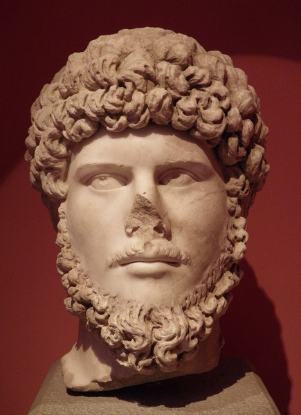 Marble Bust of Lucius Verus