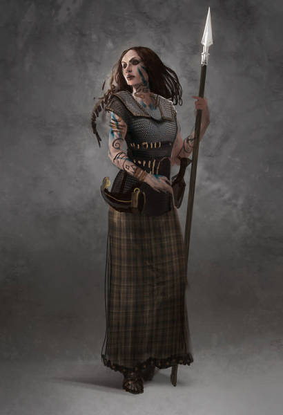 Briton Woman Warrior