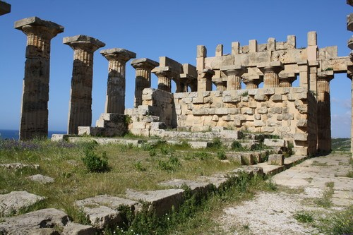 Interior, Temple of Hera, Selinus