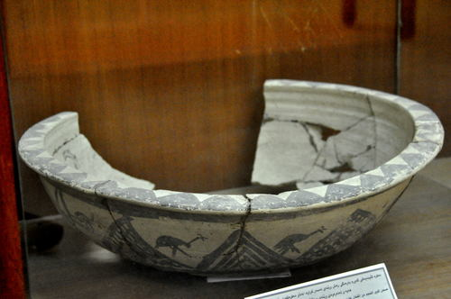 Pottery Dish from Uruk Period