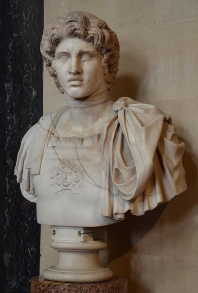 Alexander the Great, Roman Era bust