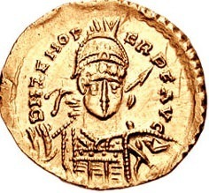 Odoacer Solidus (Coin) (by Saperaud, CC BY-SA)