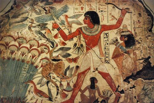 Egyptian Hunting in the Marshes
