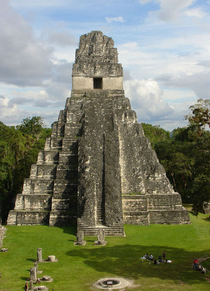 Temple I, Tikal (by Dave Jimison, CC BY-SA)