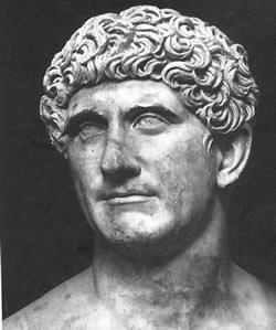 Bust of Mark Antony (by Tataryn77, Public Domain)