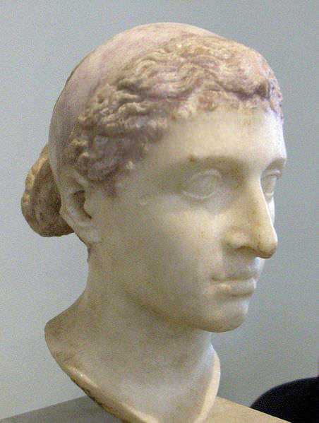 Bust of Cleopatra