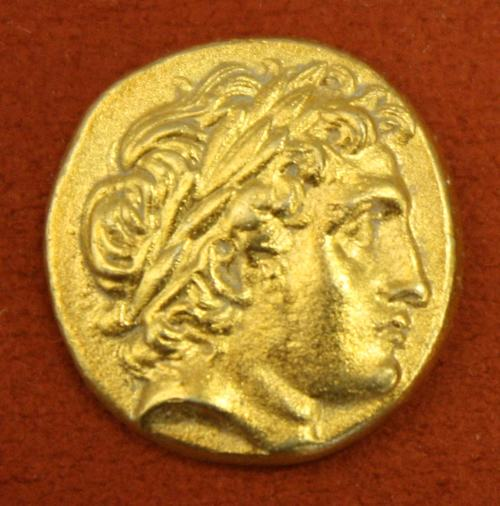 Apollo, Macedonian Gold Stater (by Mark Cartwright)
