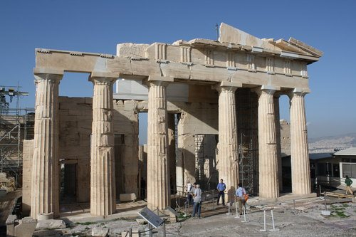 Propylaea, Athenian Acropolis (by Mark Cartwright, CC BY-NC-SA)