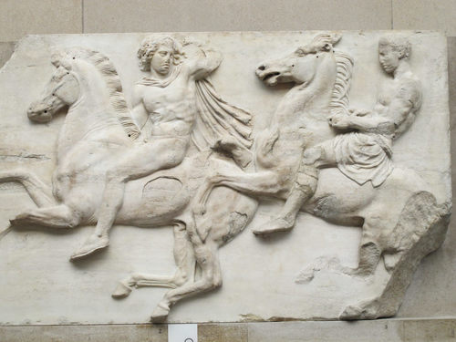 Horsemen from the Parthenon Frieze
