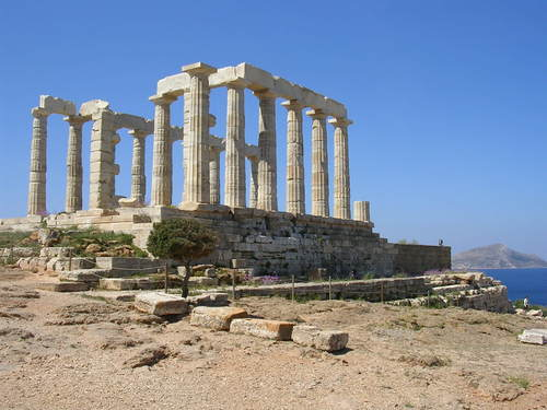 Temple of Poseidon, Sounion, Greece (by Mark Cartwright, CC BY-NC-SA)