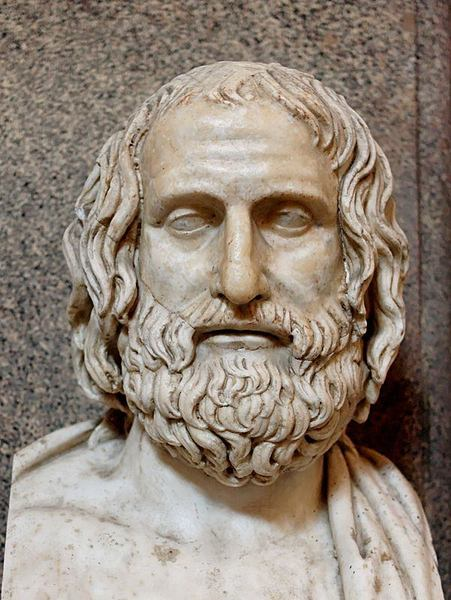 Euripides (by Jastrow, Public Domain)
