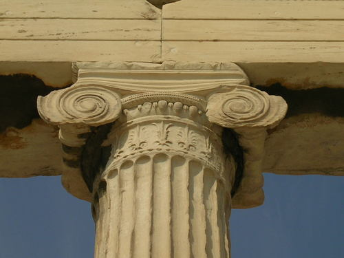 Ionic Capital (by Mark Cartwright)