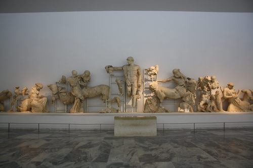 West Pediment, Temple of Zeus, Olympia