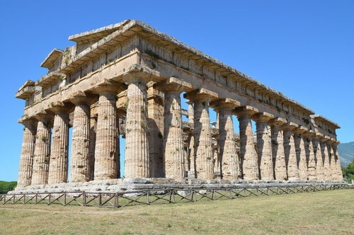 Temple of Hera II, Paestum (by Carole Raddato, CC BY-SA)