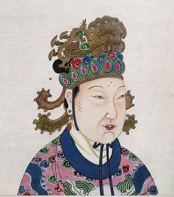 Empress Wu Zetian (by Unknown, Public Domain)