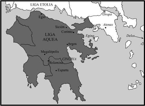 Achaean League c. 150 BCE