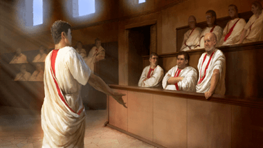 Roman Politicians (by The Creative Assembly, Copyright)