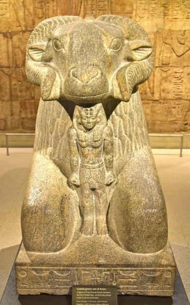Ram of Amun (by James Blake Wiener, CC BY-NC-SA)