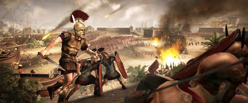 Roman Beach Attack (by The Creative Assembly, Copyright)