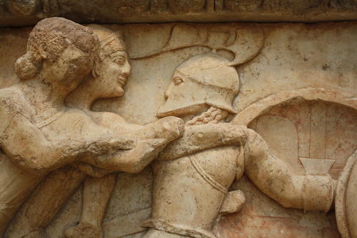 Gods Fighting Giants, Delphi (by Mark Cartwright, CC BY-NC-SA)