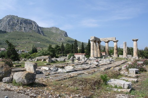 Temple of Apollo, Corinth (by Mark Cartwright)