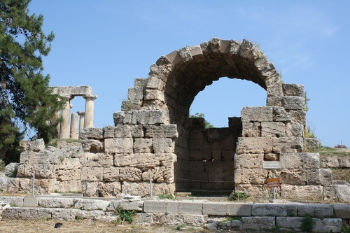 Ruined Shop, Corinth Agora
