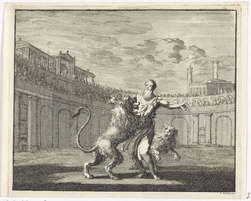 Ignatius of Antioch in the Arena