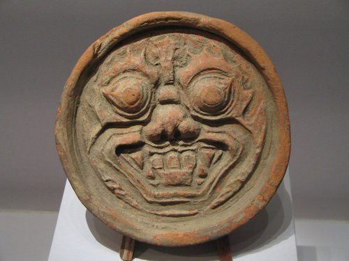 Goguryeo Roof Tile (by Pressapochista, CC BY-SA)