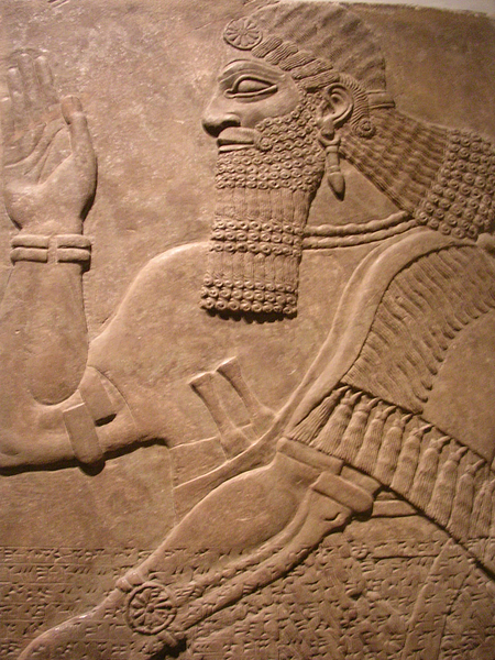 Assyrian Doorway Protective Spirit (by Mark Cartwright, CC BY-NC-SA)