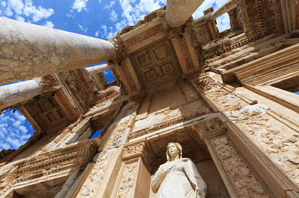 Library of Celsus (by greenp, Copyright)