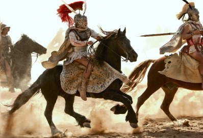 Alexander the Great in Combat
