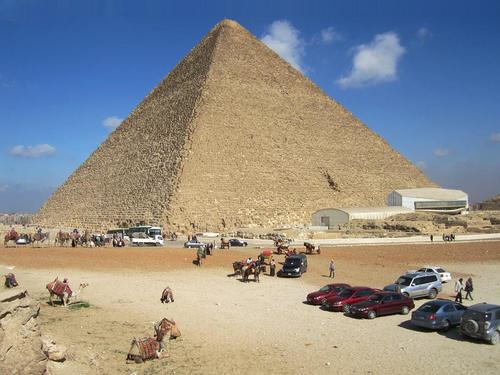 Great Pyramid of Giza (by David Stanley, CC BY)