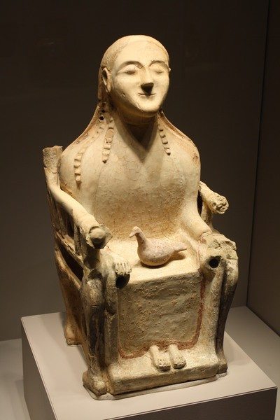 Seated Demeter Figurine (by Mark Cartwright, CC BY-NC-SA)