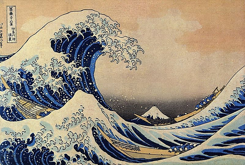 Beneath the Wave off Kanagawa