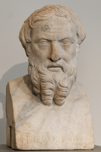 Herodotus (by Photograph by Marie-Lan Nguyen, CC BY)
