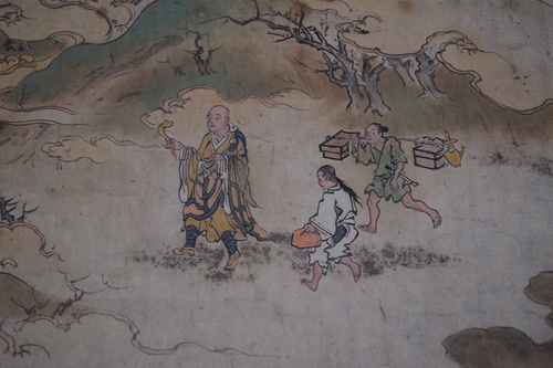Hachiman, Illustrated Scroll