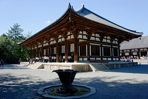 Main Hall, Toshodai-ji