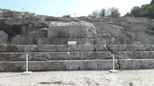 Speaker's Platform at the Athenian Assembly