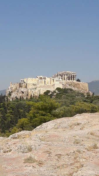View of the Acropolis from Pnyx