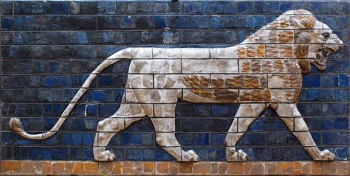 Lion of Babylon, Ishtar Gate (by Jan van der Crabben, CC BY-NC-SA)