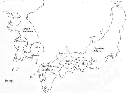 The Korean Peninsula and the Japanese Archipelago, 3rd-6th century CE