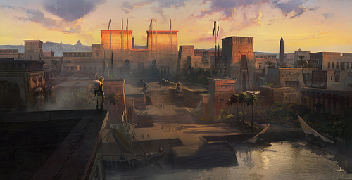Egyptian Memphis Reconstruction (by Ubisoft Entertainment SA)