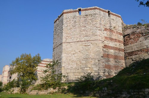 Tower, Theodosian Walls