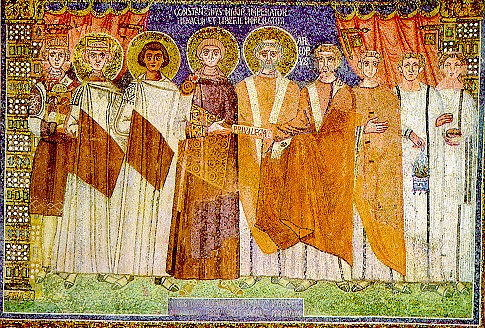 Constantine IV (by Unknown Artist, Public Domain)