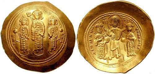 Romanos IV Histamenon (by Classical Numismatic Group, Inc., CC BY-SA)
