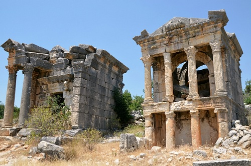 Roman Temple-tombs (by Carole Raddato, CC BY-NC-SA)