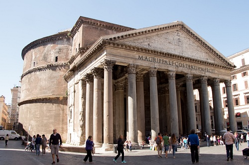 Rome's Pantheon (by Capitu, CC BY)